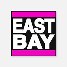 east bay pink Sticker
