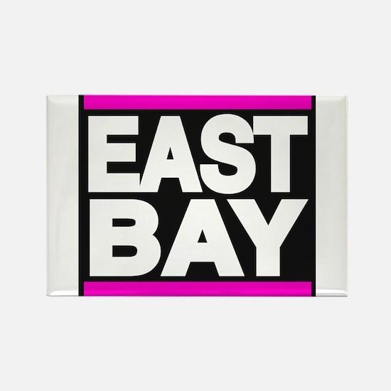 east bay pink Rectangle Magnet