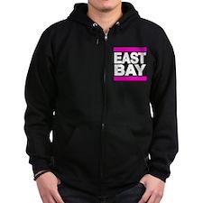east bay pink Zip Hoodie