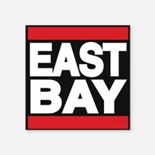 east bay red Sticker