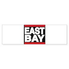 east bay red Bumper Bumper Sticker