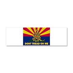 Arizona Dont Tread On Me Car Magnet 10 x 3