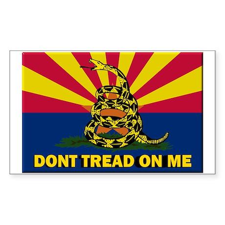 Arizona Dont Tread On Me Sticker
