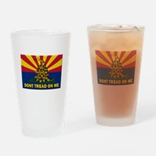 Arizona Dont Tread On Me Drinking Glass