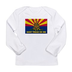 Arizona Dont Tread On Me Long Sleeve T-Shirt