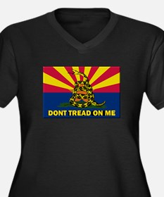 Arizona Dont Tread On Me Plus Size T-Shirt