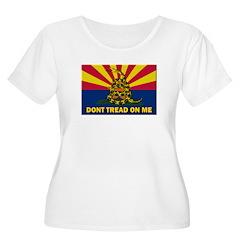 Arizona Dont Tread On Me Plus Size T-Shirt