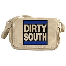 dirty south blue Messenger Bag