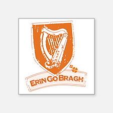 """Erin Go Braugh (Harp 1) Square Sticker 3"""" x 3"""""""