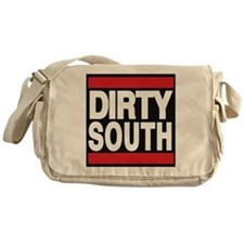 dirty south red Messenger Bag