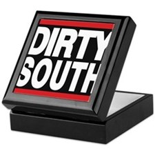 dirty south red Keepsake Box