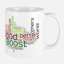 Mood Boost Fun Logo Mug