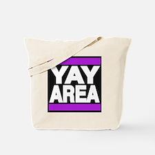 yay area purple Tote Bag