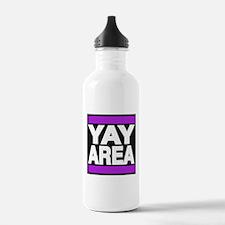 yay area purple Water Bottle