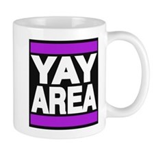 yay area purple Mug