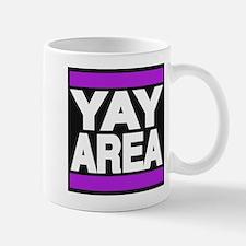 yay area purple Mug