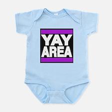 yay area purple Body Suit