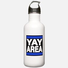 yay area blue Water Bottle