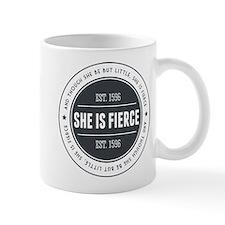 She is Fierce Badge Mug