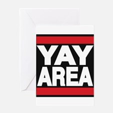 yay area red Greeting Card
