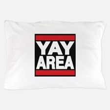 yay area red Pillow Case