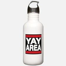 yay area red Water Bottle