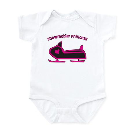 Snowmobile Princess Infant Bodysuit