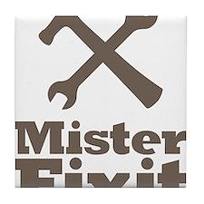 Mister Fix It Mr. Fixit Tile Coaster
