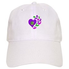 Turtle Heart Baseball Cap