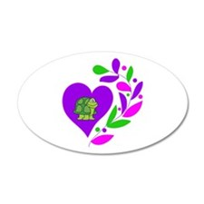 Turtle Heart Wall Decal
