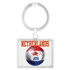 Netherlands Football Landscape Keychain