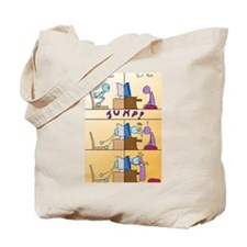 Jumping Through The Web Tote Bag