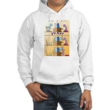 Jumping Through The Web Hoodie