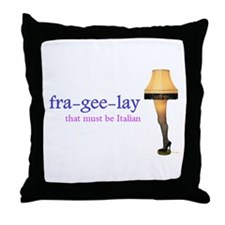 A Christmas Story - fra-gee-lay Throw Pillow