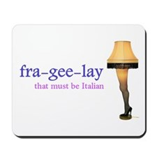 A Christmas Story - fra-gee-lay Mousepad