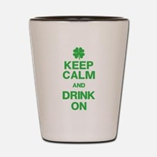 St. Patricks Day Shot Glass
