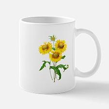 Gaillardia or Sunflowers by Redoute Mug