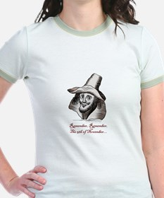 Guy Fawkes Ringer T-Shirt