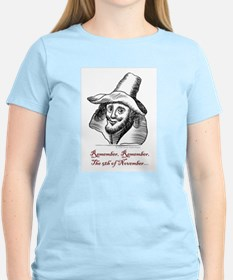 Guy Fawkes Pink T-Shirt