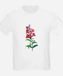 Antirrhinum or Snapdragons by Redoute T-Shirt