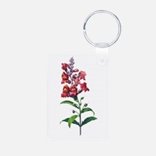 Antirrhinum or Snapdragons by Redoute Keychains