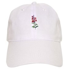 Antirrhinum or Snapdragons by Redoute Baseball Cap