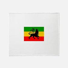 Lion of Judah Throw Blanket
