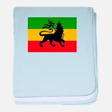 Lion of Judah baby blanket