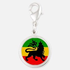 Lion of Judah Silver Round Charm