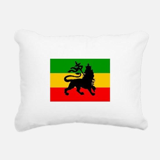 Lion of Judah Rectangular Canvas Pillow
