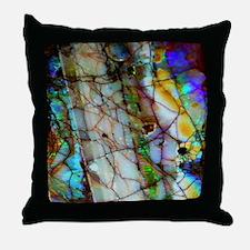 Opalesque Throw Pillow