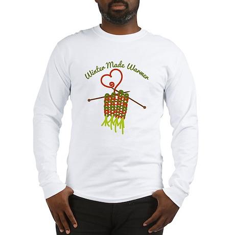 Christmas Knitting Warm Winter Long Sleeve T-Shirt