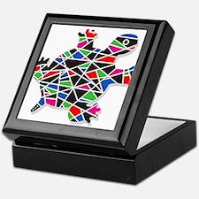 painted turtle Keepsake Box