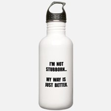 Not Stubborn Water Bottle